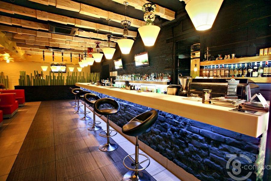 Дизайн баров в кафе