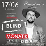 Blind. L'officiel. Monatik @ Panorama, 17 Июня 2016