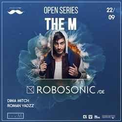 Robosonic @ Moskvich bar, 22 Сентября 2017