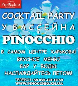 Cocktail Party у бассейна