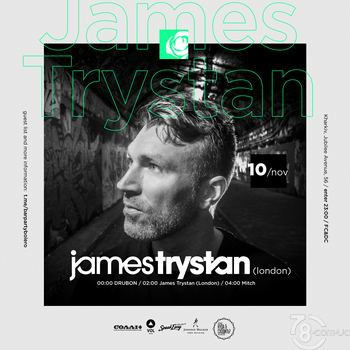 James Trystan (London) & Drubon & Mitch @ Bar Party Bolero, 10 Ноября 2018