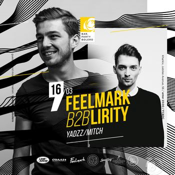 Filmark b2b Lirity & YadzZ & Mitch @ Bar Party Bolero, 16 Марта 2019
