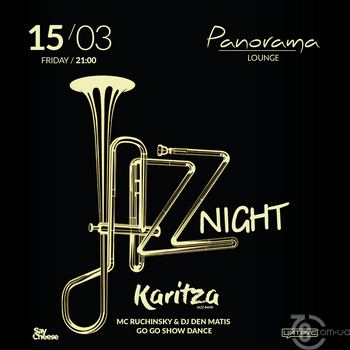 Jazz Night @ Panorama Lounge, 15 Марта 2019