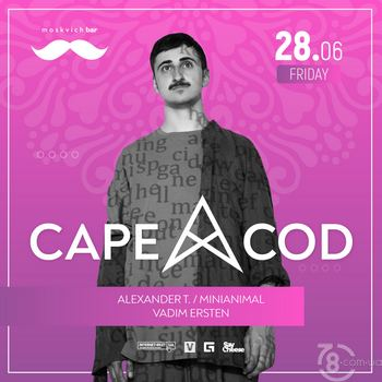 Cape Cod @ Moskvich bar, 28 Июня 2019