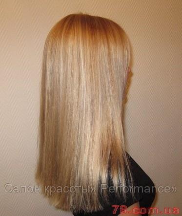 Окрашивание волос омбре в харькове