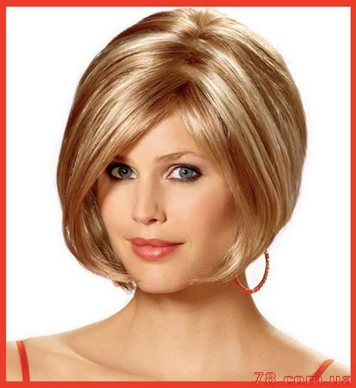 Прическа женская на средние волосы