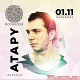 Atapy (Romania) @ Moon Room, 1 ноября 2014