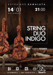 String duo indigo