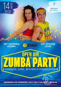 Open Air Zumba Party