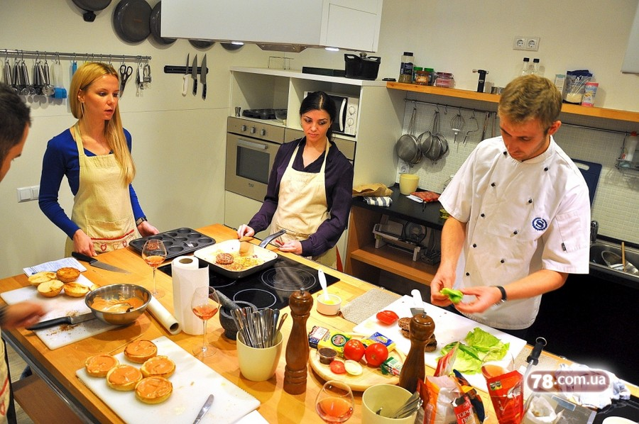 Кухня мастер класс в харькове